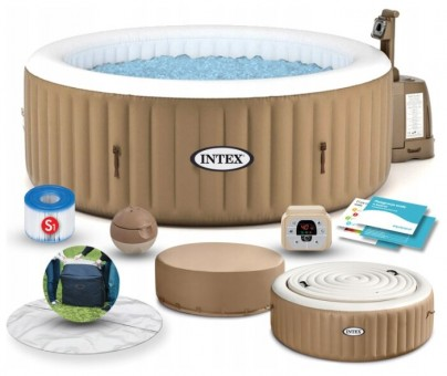СПА бассейн Intex PureSpa Bubble Massage 28474
