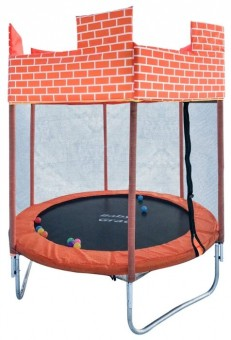 Каркасный батут BabyGrad Castle 6ft 183х183х200 см